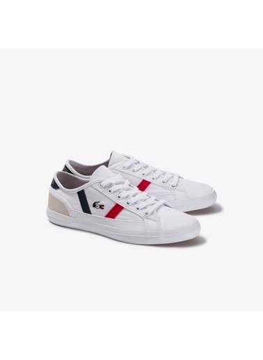 Lacoste Kadın Sideline Tri Sneakers 739CFA0046.2H4 Beyaz